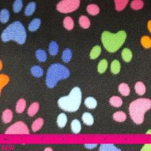 PAW PRINT FLEECE 1m x 1.5m