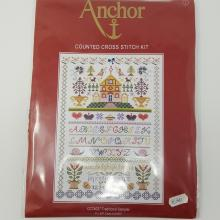 CROSS STITCH TRAD SAMPLER