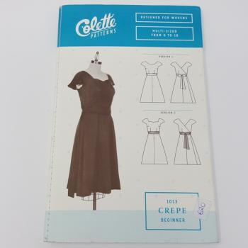 COLETTE CREPE DRESS PATTERN