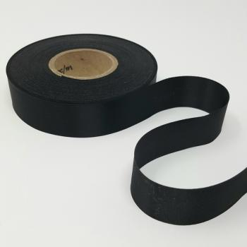 24mm BLACK SATIN RIBBON