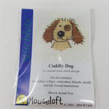 STITCHLETS CUDDLY DOG