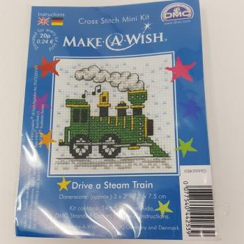 DMC CROSS STITCH MINI TRAIN