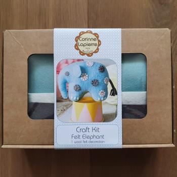 FELT ELEPHANT CRAFT KIT By CORINNE LAPIERRE