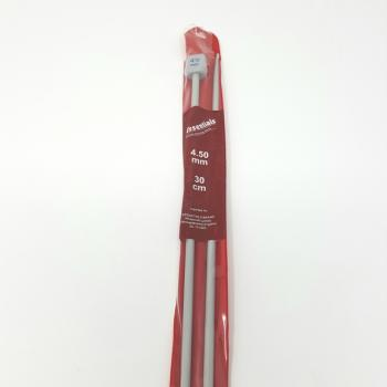 ESSENTIALS KNITTING NEEDLES 4.5mm 30cm