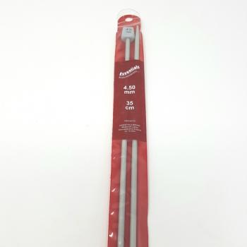 ESSENTIALS KNITTING NEEDLES 4.5mm 35cm