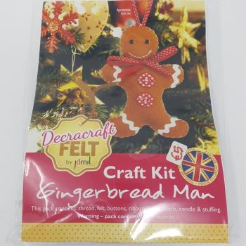 GINGERBREAD MAN CRAFT KIT