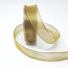 METALLIC GOLD RIBBON 1 INCH