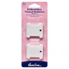 EMBROIDERY THREAD BOBBINS - PLASTIC