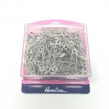 HEMLINE CURVED SAFETY PINS