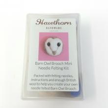 OWL BROOCH FELTING KIT