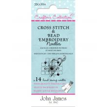 JJ CC CROSS STITCH & BEAD EMBROIDERY NEEDLES
