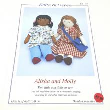 ALISHA & MOLLY RAGDOLL PATTERN