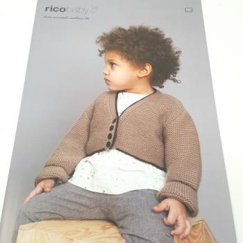 RICO KNIT PATTERN BABY 462