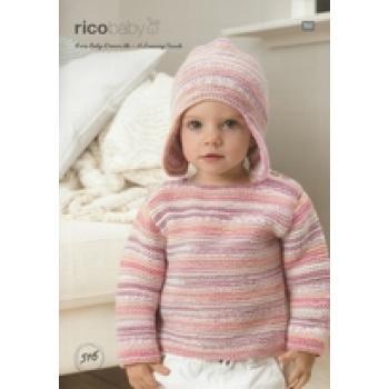 RICO KNIT PATTERN BABY 516