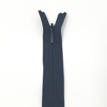 NYLON INVISIBLE ZIP 22inch/56cm NAVY