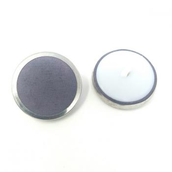 PURPLE FABRIC BUTTON LARGE