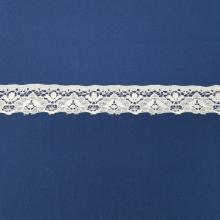 LACE FLAT 25mm WHITE