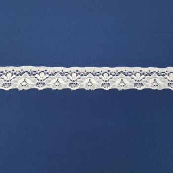 LACE FLAT 25mm WHITE
