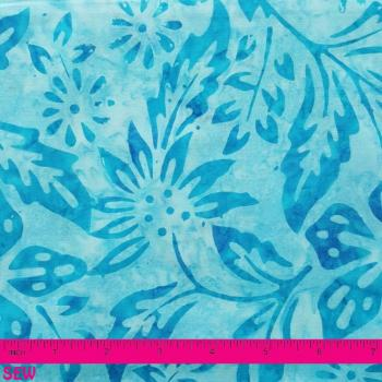 MODA CATALINA BATIK BLUE FLOWERS