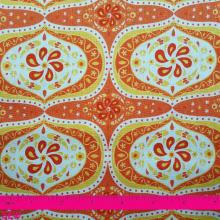FOLKLORE ORANGE PATTERN