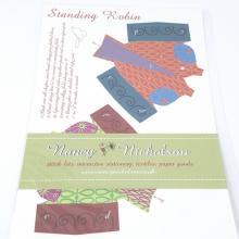 NANCY NICHOLSON CARD STANDING ROBIN