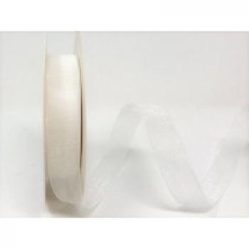 BTB WHITE ORGANZA 16mm