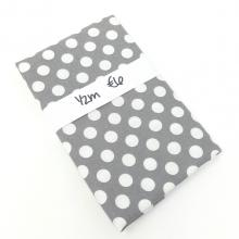DOVE GREY POLKA DOT