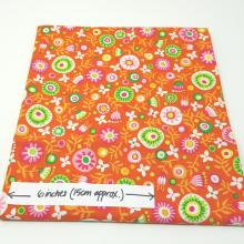 MONKEYING AROUND FLORAL FUN ORANGE