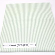 TICKING STRIPE MINT