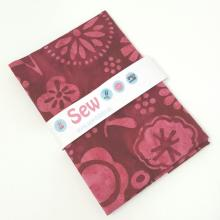 BALI HANDPAINT RED FLORAL