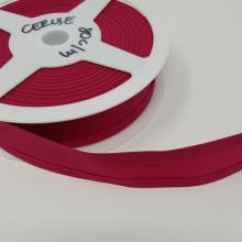 BIAS BINDING 25mm CERISE