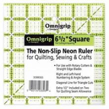 OMNIGRIP RULER 6 1/2in SQUARE