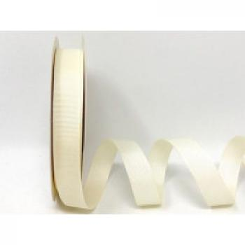 16mm CREAM GROSGRAIN RIBBON