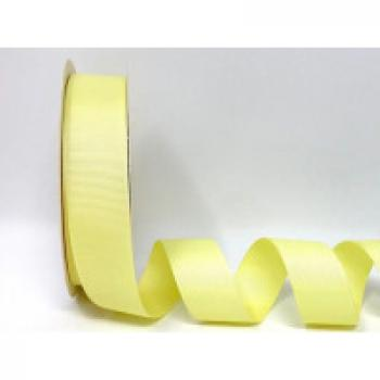 25mm YELLOW GROSGRAIN RIBBON