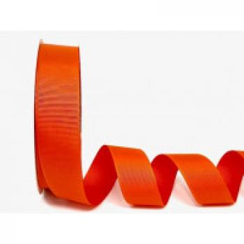 25mm ORANGE GROSGRAIN RIBBON