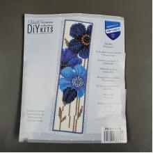 BLUE ANEMONES BOOKMARK