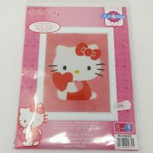 HELLO KITTY TAPESTRY W/ HEART