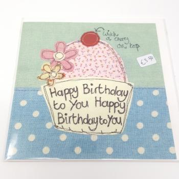 PT CARD HAPPY BIRTHDAY CHERRY