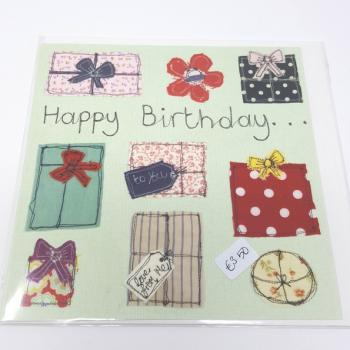 PT CARD HAPPY BIRTHDAY PRESENTS