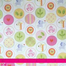 DENA HAPPI ANIMAL CIRCLES PINK