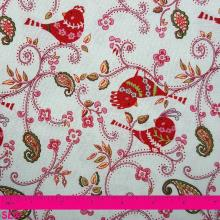 DANA LOVE & JOY DOTTY BIRDS WHITE
