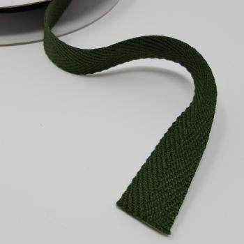 GREEN TWILL 3/4in