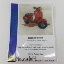 STITCHLETS RED SCOOTER