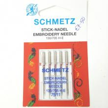 SCHMETZ EMBROIDERY MACHINE NEEDLES 75/11