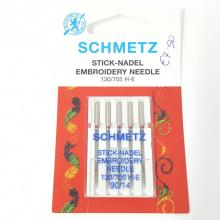 SCHMETZ EMBROIDERY SEWING MACHINE NEEDLES 90/14