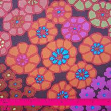 KAFFE FASSETT TILEFLOWERS RED