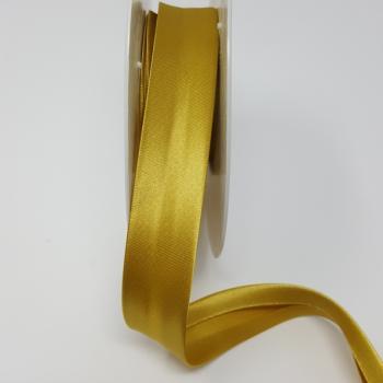 SATIN BIAS BINDING 19mm Gold