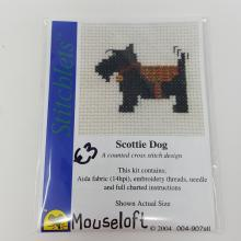 STITCHLETS SCOTTIE DOG