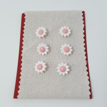 DAISY BUTTON LIGHT PINK