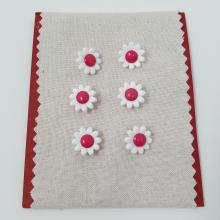 DAISY BUTTON PINK